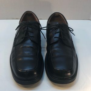 Nunn Bush Black Leather Shoes With Inserts Size 11